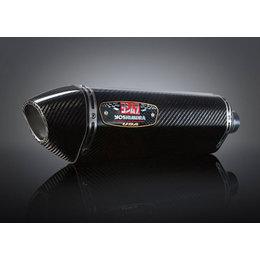 Stainless Steel Mid Pipe/carbon Fiber Muffler/carbon Fiber End Cap Yoshimura R-77 Slip-on Muffler Ss Cf Cf For Suzuki Gsx-r600 Gsx-r750 2011-2013