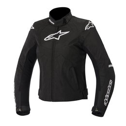 Black, White Alpinestars Womens Stella T-jaws Waterproof Textile Jacket 2015 Blk White