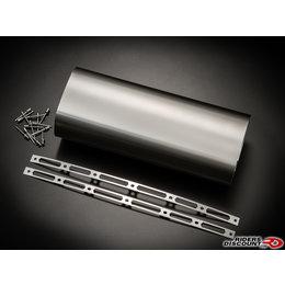 Carbon Fiber Akrapovic Repair Kit For Muffler Sleeve Carbon For Duc S4r Kaw Z1000 Suz Gsxr
