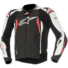 Alpinestars Mens GP Tech V2 Tech-Air Compatible Leather Jacket Black