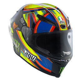 AGV Limited Rossi Double Face Replica Full Face Helmet With Tear-Off Shield Black