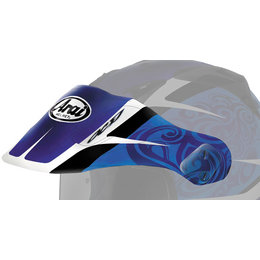 Blue Arai Replacement Visor For Xd3 Bosch Dual Sport Helmet