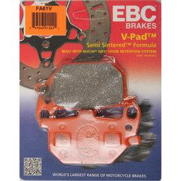 EBC V-Series Semi Sintered Front Brake Pads Single Set ONLY For Yamaha FA61V