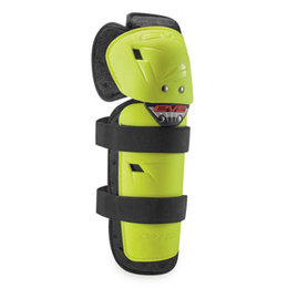 EVS Adult Option Protective Knee Shin Guards Pair Yellow