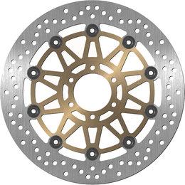Bikemaster Front Brake Rotor For Ducati Yamaha 404 Unpainted