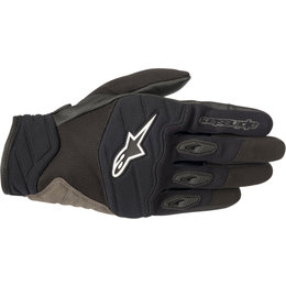 Alpinestars Mens Shore Textile Gloves Black