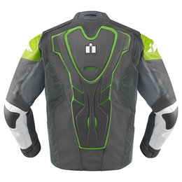 Green Icon Mens Hypersport Prime Leather Jacket 2014
