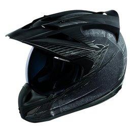 Charcoal Icon Variant Battlescar Dual Sport Helmet