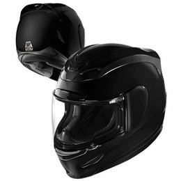 Black Icon Airmada Gloss Full Face Helmet