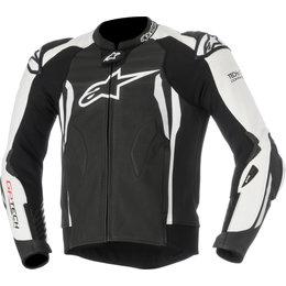 Alpinestars Mens GP Tech V2 Tech-Air Compatible Leather Jacket Black