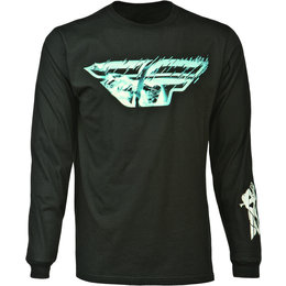 Black Fly Racing Mens Focus Long Sleeve T-shirt 2015