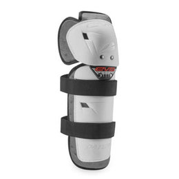 EVS Adult Option Protective Knee Shin Guards Pair White