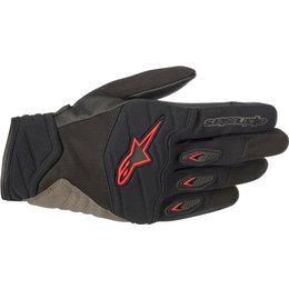 Alpinestars Mens Shore Textile Gloves Black