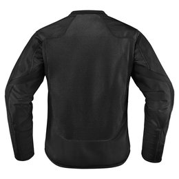 Icon Womens Anthem 2 Armored Fighter Mesh Motorcycle Riding Jacket Black