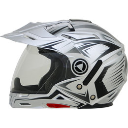 AFX Mens FX-55 7 In 1 Crossover Multis Helmet Silver