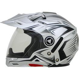 AFX Mens FX-55 7 In 1 Crossover Multis Helmet Silver
