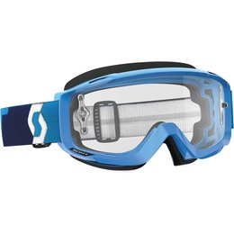 Scott USA Split OTG MX Offroad Anti-Fog Goggles Blue