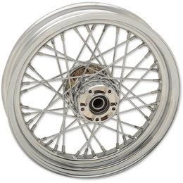 Drag Specialties Spoke Front Wheel 16x3 Chrome 0203-0619 Metallic