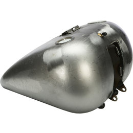 HardDrive Softail Heavy Duty Steel 5 Gallon Gas Tank Each For Harley 011813 Silver