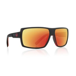 Jet Red/red Ionized Dragon Alliance Double Dos Sunglasses With Ionized Lens 2013 Jet Red