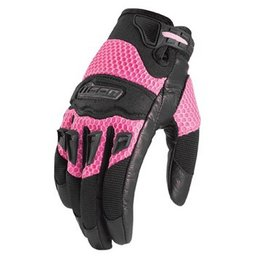 Pink Icon Womens Twenty-niner Textile Gloves