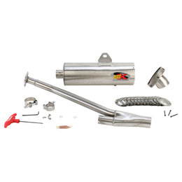 Supertrapp IDSX Exhaust System Stainless Steel For Kawasaki Brute Force 750i 4x4
