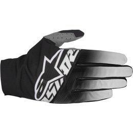 Alpinestars Mens Dune-2 MX Motocross Offroad Textile Riding Gloves Black