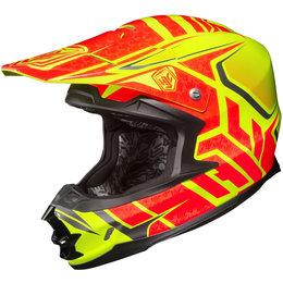 Hi-vis Yellow Hjc Fg-x Fgx Grand Duke Helmet