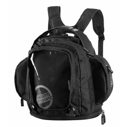 Black Icon Urban Tank Bag Backpack One Size