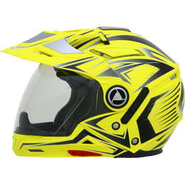 AFX Mens FX-55 7 In 1 Crossover Multis Helmet Yellow