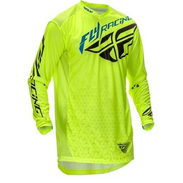 Fly Racing Mens Limited Edition Lite Hydrogen Jersey Yellow