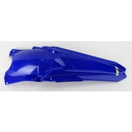 UFO Plastics Carbon Fiber Fender Blue For Yamaha YZ450F 2010