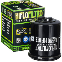 Hiflo Premium Scooter Oil Filter LS For Aprilia Derbi Piaggio HF183 Unpainted