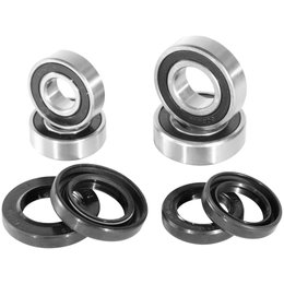 Pivot Works Front Wheel Bearing And Seal Kit For Arctic Cat Kawasaki Polaris Unpainted