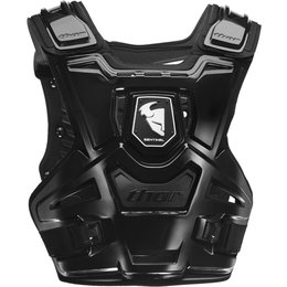 Thor Youth Boys Sentinel Chest/Back Roost Guard Protector Black