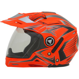 AFX Mens FX-55 7 In 1 Crossover Multis Helmet Orange