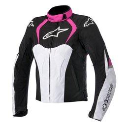 Black, Pink Alpinestars Womens Stella T-jaws Waterproof Textile Jacket 2015 Black Pink