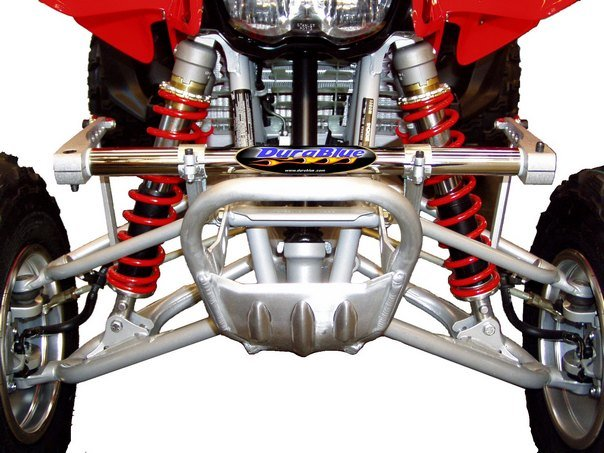 ATV FRONT FORK AND SHOCK BOOTS UNIVERSAL BLUE