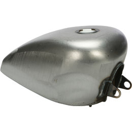 HardDrive Rubber Mounted 2.25 Gallon Gas Tank Each For Harley-Davidson 011484 Silver