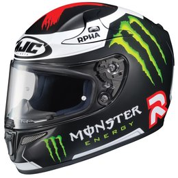 HJC RPHA 10 Pro Jorge Lorenzo Replica 3 Full Face Motorcycle Helmet Black