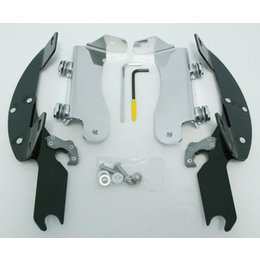 Memphis Shades Batwing Mount Kit Black For Kawasaki VN1500 Nomad