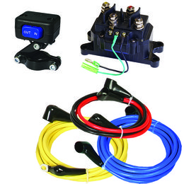 KFI 12V Wiring Kit For ATV Winch Universal