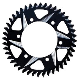 Vortex Silver 36 Tooth 520 Rear Aluminum Sprocket For Ducati Black 110AZK-36 Black