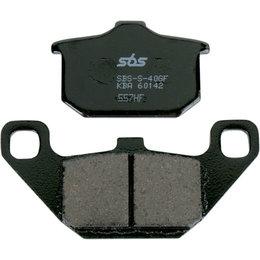 SBS Ceramic Brake Pads Single Set Only Kawasaki GPz750 ZX750E Turbo 557HF Unpainted