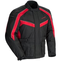 Red, Black Tour Master Mens Saber 4.0 Textile Jacket 2014 Red Black