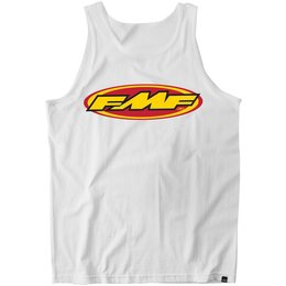 FMF Mens The Don Tank Top White