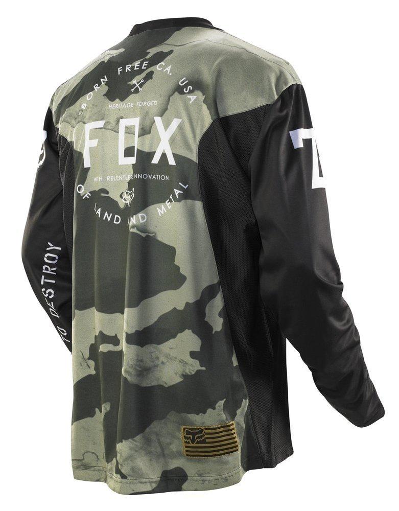 $34.95 Fox Racing Mens Nomad MacHina Jersey 2014 #194981