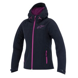 Black, Pink Alpinestars Womens Stella Tornado Air Hooded Textile Jacket 2015 Black Pink