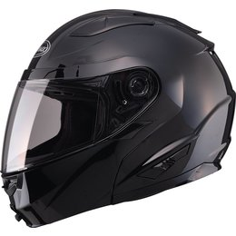 GMax GM64 Modular Helmet With Flip Up Chin Bar Black