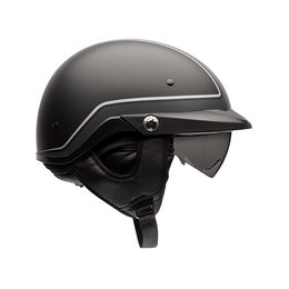 Bell Powersports Pit Boss Pin Half Helmet Black